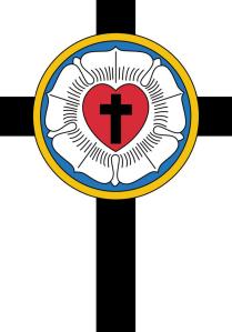 Símbolo da Igreja Luterana - A Rosa de Lutero